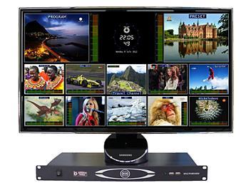 OptimumVision IRIS AACC 8-channel SDI & 8-channel SDI / Composite Multiviewer
