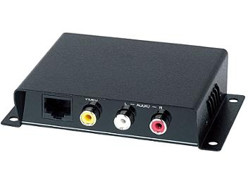 Globalmediapro SHE CE01A-S Composite Video and Audio CAT5 Receiver