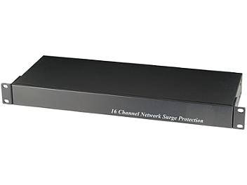 Globalmediapro SHE SP016N 16-Channel IP Surge Protector for NVR
