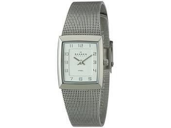 Skagen 523XSSS Silver Stainless Steel Bracelet Ladies Watch