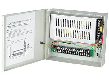 Globalmediapro SHE PW816S-12R 8-Amp 16-Port DC12V Regulated Power Supply
