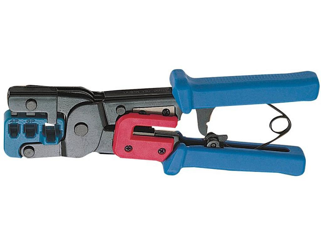 RJ45//RJ22 Modular Crimping Tool 4//6//8 poles modular connector telephone wire