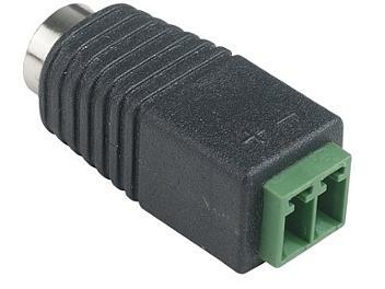 Globalmediapro SHE AP008-F DC Jack to Terminal Block (pack 10 pcs)