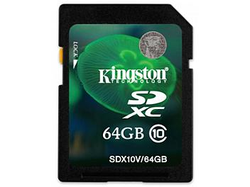 Kingston 64GB Class-10 SDXC Memory Card (pack 5 pcs)