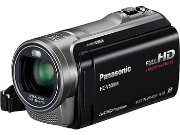 Panasonic HC-V500M HD Camcorder PAL - Black