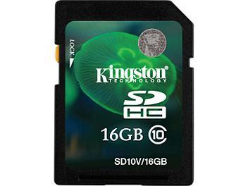 Kingston 16GB Class-10 SDHC Memory Card (pack 2 pcs)