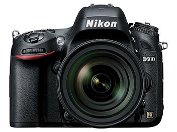 Nikon D600 DSLR Camera Kit with Nikon 24-85mm F3.5-4.5G ED VR Lens