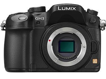 Panasonic Lumix DMC-GH3 Camera Body PAL