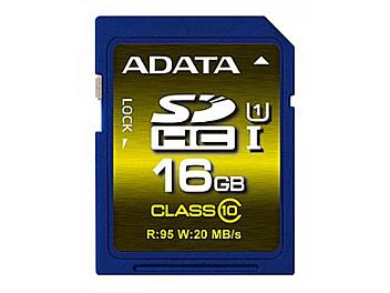 A-DATA 16GB Premier Pro UHS-I U1 Class-10 SDHC Card (pack 2 pcs)