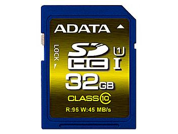A-DATA 32GB Premier Pro UHS-I U1 Class-10 SDHC Card (pack 2 pcs)