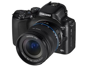 Samsung NX20 Camera Kit with 18-55mm Lens - Black