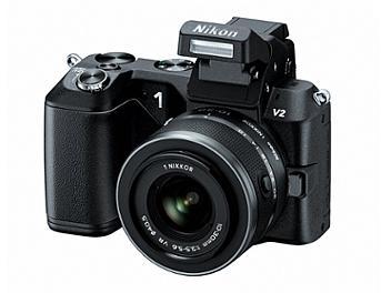 Nikon 1 V2 Camera Kit with 10-30mm Lens - Black