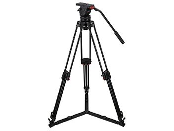 Globalmediapro FH10-CF-G Video Tripod with Carbon Fiber Legs and Ground Spreader