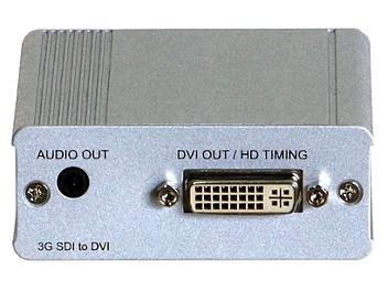 Globalmediapro SDVI-101 HD-SDI to DVI Converter