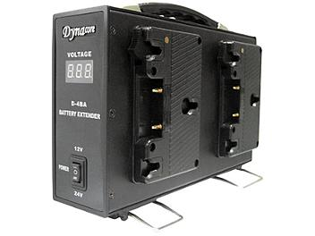 Dynacore D-4BA 4 x Gold Mount Battery to 12/24V DC Adapter