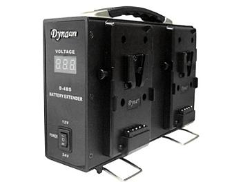 Dynacore D-4BS 4 x V-Mount Battery to 12/24V DC Adapter