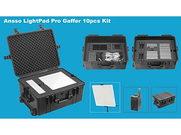 Ansso LightPad PG-5DT Pro Gaffer 10pcs Kit