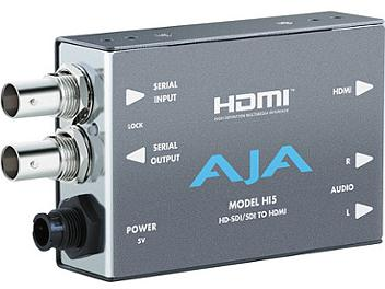 AJA HI5 HD/SD SDI to HDMI Video and Audio Converter