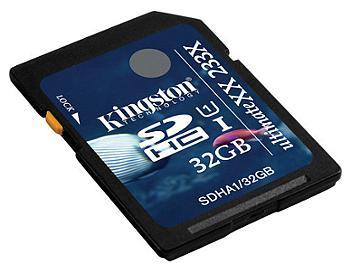 Kingston 32GB UltimateXX UHS-I SDHC Memory Card (SDHA1/32GB)