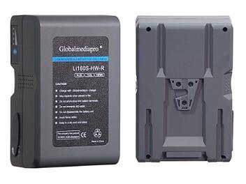 Globalmediapro Li160S-HW-R V-Mount Li-ion Battery 158Wh for Red Camera