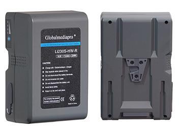 Globalmediapro Li230S-HW-R V-Mount Li-ion Battery 230Wh for Red Camera