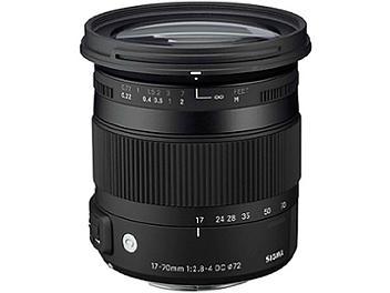 Sigma 17-70mm F2.8-4 DC Macro OS HSM Lens - Nikon Mount