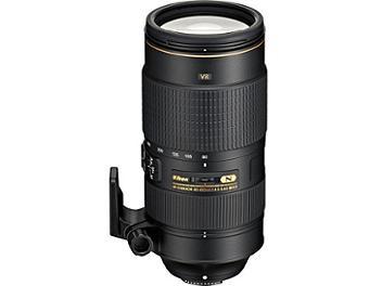 Nikon 80-400mm F4.5-5.6G AF-S ED VR Nikkor Lens
