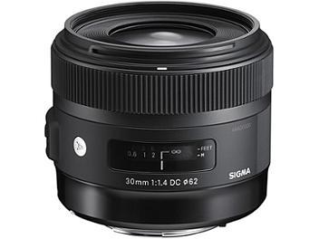 Sigma 30mm F1.4 DC HSM Lens - Sigma Mount