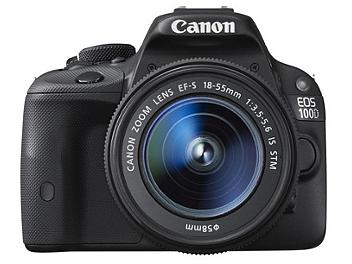 Canon EOS-100D DSLR Camera Kit with Canon EF-S 18-55mm IS STM Lens
