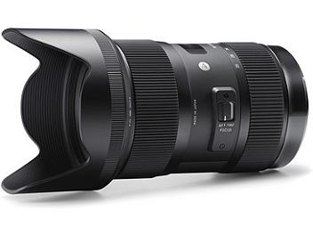 Sigma 18-35mm F1.8 DC HSM Lens - Canon Mount