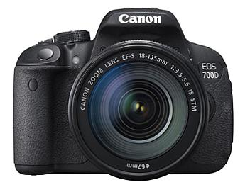 Canon EOS-700D DSLR Camera Kit with Canon EF-S 18-135mm IS STM Lens