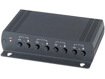 Globalmediapro SHE TTA414VRA 4-Port Digital Audio Gain Active Receiver