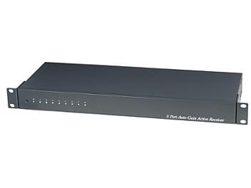 Globalmediapro SHE TPA008A 8-Port Port Digital Auto Gain Active Receiver