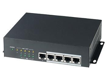 Globalmediapro SHE IP06H 5-Port High Power PoE Switch