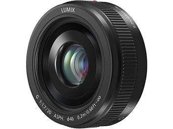 Panasonic 20mm F1.7 II H-H020A ASPH Lens - Micro Four Thirds Mount