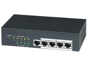 Globalmediapro SHE IP05H 5-Port PoE Switch