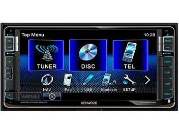 Kenwood DDX630WBT 7-inch Wide VGA Double-DIN Monitor with Bluetooth Receiver