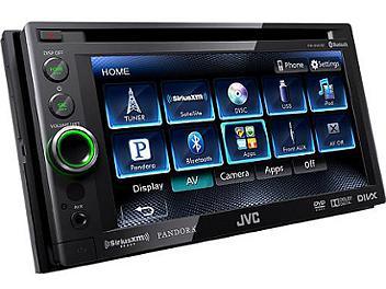 JVC KW-AV61BT 6.1-Inch DVD-CD-USB Bluetooth Receiver