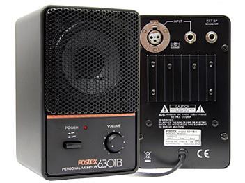 Fostex 6301B Powered Studio Monitor Speakers - Pair