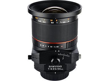 Samyang 24mm F3.5 ED AS UMC Tilt-Shift Lens - Canon Mount
