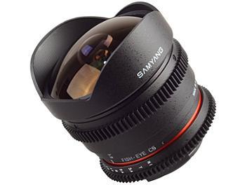 Samyang 8mm T3.8 VDSLR Fisheye Lens - Canon Mount