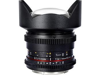 Samyang 14mm T3.1 VDSLR Fisheye Lens - Nikon Mount