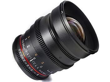 Samyang 24mm T1.5 VDSLR Lens - Sony Mount