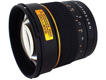 Samyang 85mm F1.4 Aspherical Lens - Four Thirds Mount