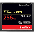 SanDisk 256GB Extreme Pro CompactFlash Memory Card 160MB/s