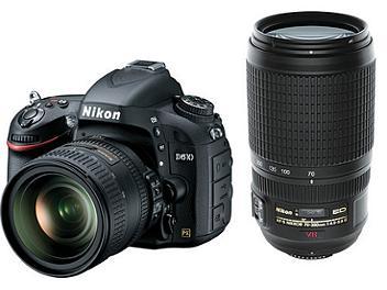 Nikon D610 DSLR Camera Kit with 24-85mm and 70-300mm Lenses