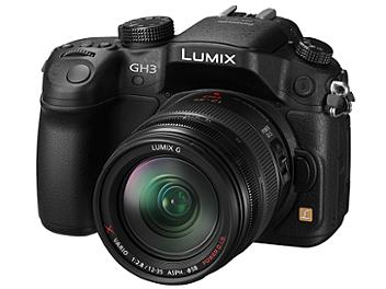 Panasonic Lumix DMC-GH3 Camera PAL Kit with 12-35mm Lens
