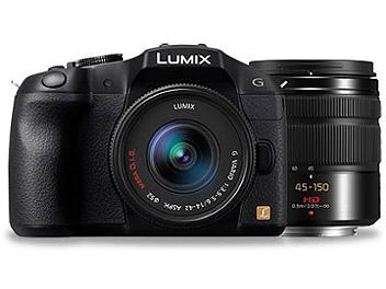 Panasonic Lumix DMC-G6 Camera PAL Kit with 14-42mm and 45-150mm Lens