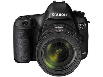 Canon EOS-5D Mark III DSLR Camera Kit with Canon EF 24-70mm F4L IS USM Lens