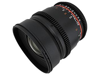 Samyang 16mm T2.2 Cine Lens - Canon Mount